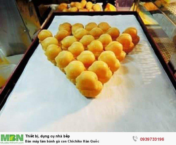 Bán máy làm bánh gà con Chichiko - nhập khẩu nguyên kiện từ Hàn Quốc4
