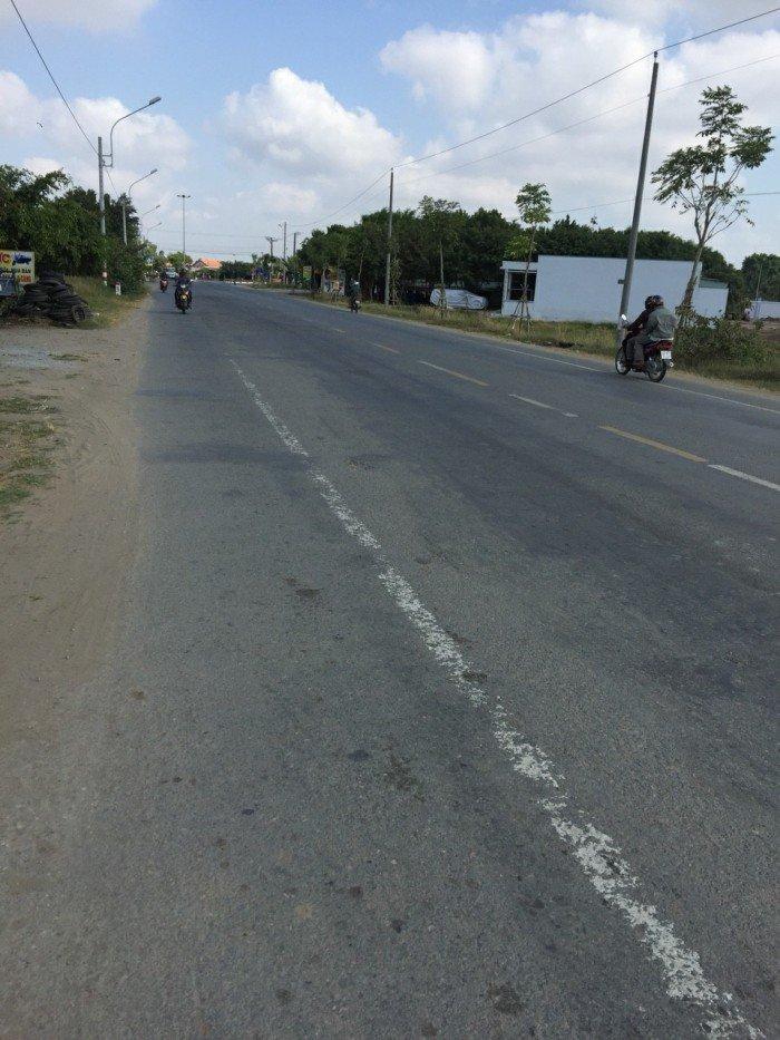 Đất mặt tiền 100m2 quốc lộ 50 shr ngay thị trấn Cần Đước