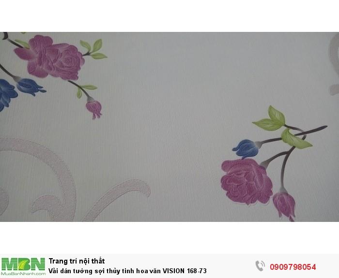Vải dán tường sợi thủy tinh hoa văn  VISION 168-73