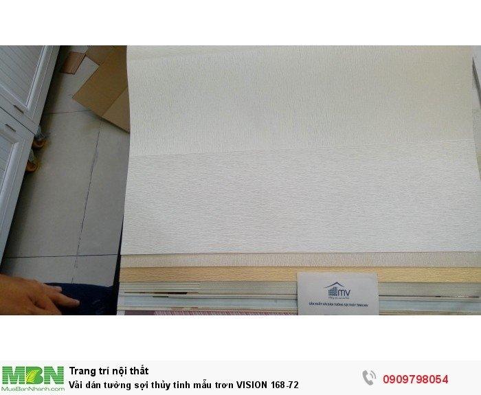 Vải dán tường sợi thủy tinh mẫu trơn  VISION 168-72