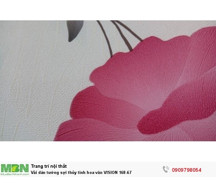 Vải dán tường sợi thủy tinh hoa văn  VISION 168-67