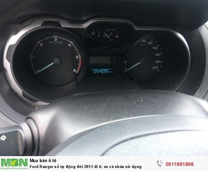 Ford Ranger số tự động đời 2013 đi ít, xe cá nhân sử dụng 7