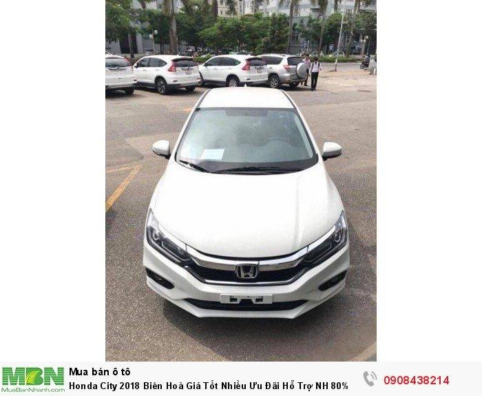 Honda City 2018 Biên Hoà Giá Tốt Nhiều Ưu Đãi Hỗ Trợ NH 80% 3