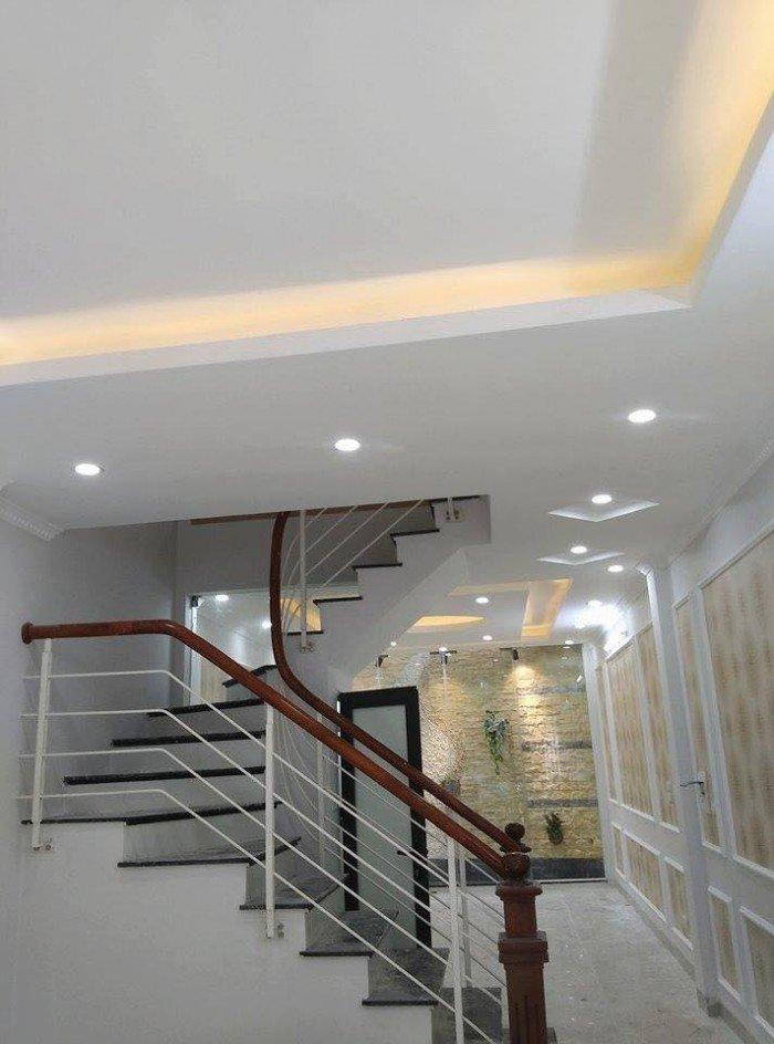 Bán nhà 4 tầng mới xây cực đẹp giá rẻ tại phố Trạm, Long Biên. Dt 40m