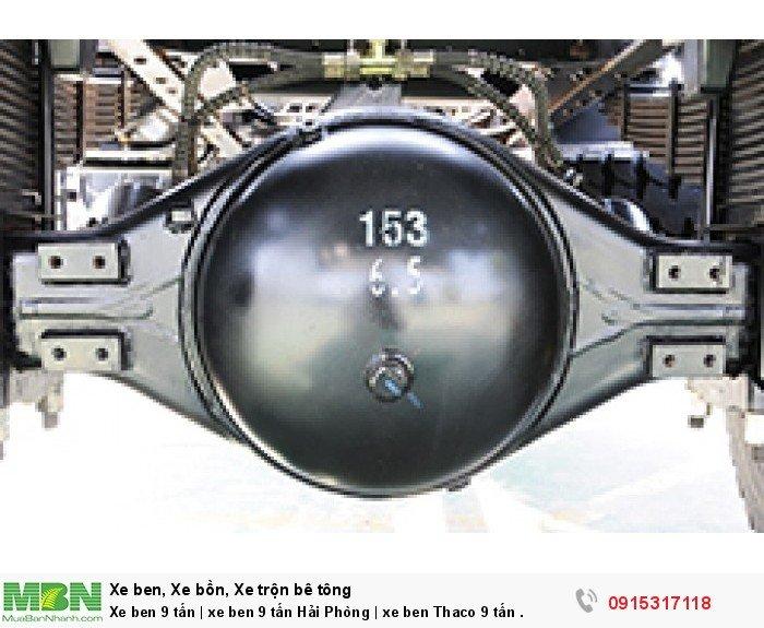 Xe ben 9 tấn   xe ben 9 tấn Hải Phòng   xe ben Thaco 9 tấn . 1