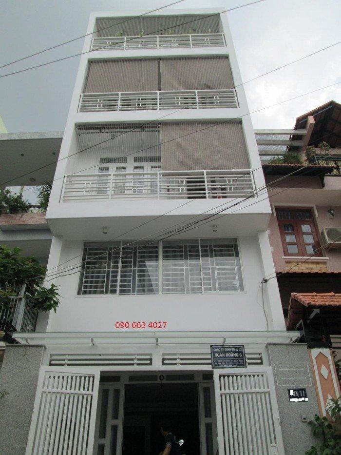 Bán gấp MT Hoàng Việt, 5 tầng, 20 phòng