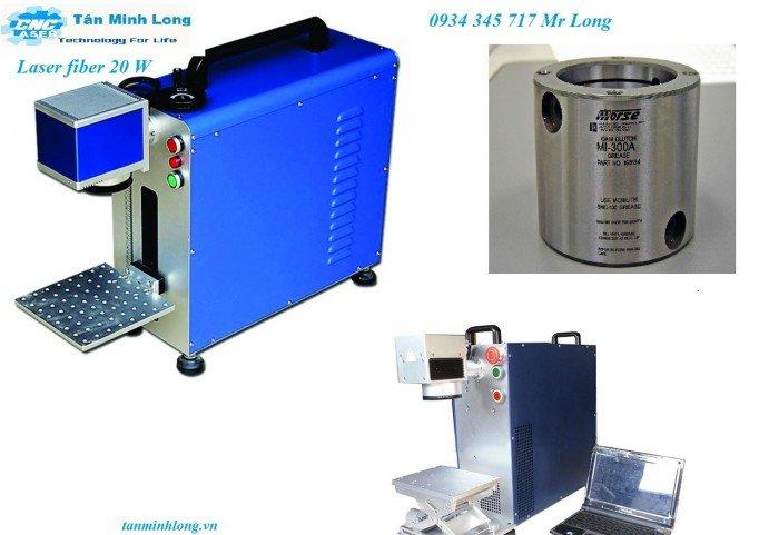 Máy Laser fiber khắc kim loại ( khắc đồng, nhôm)2
