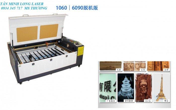 Máy Laser 6090 cắt khắc gỗ tại Tân Minh Long3