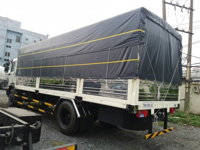 Daewoo 9 tấn hai chân thùng 7m4