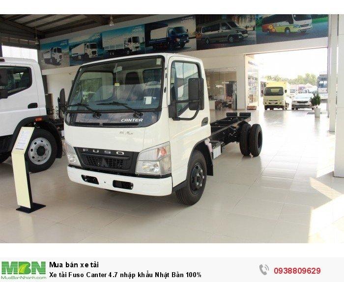 Xe tải Fuso Canter 4.7 nhập khẩu Nhật Bản 100%