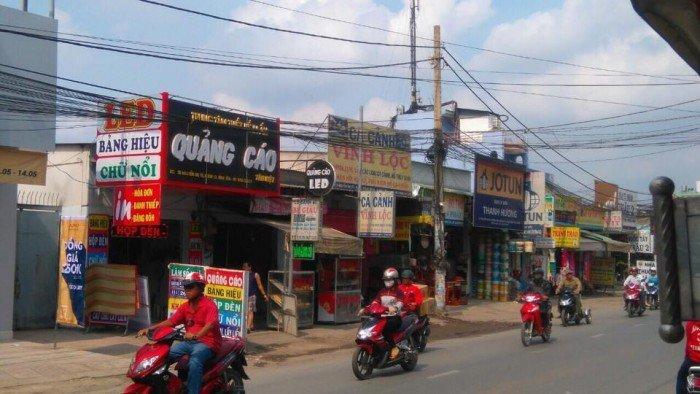 Cho thuê nhà MT ngay ngã tư thoáng đẹp Nguyễn Thị Tú, Bình Tân