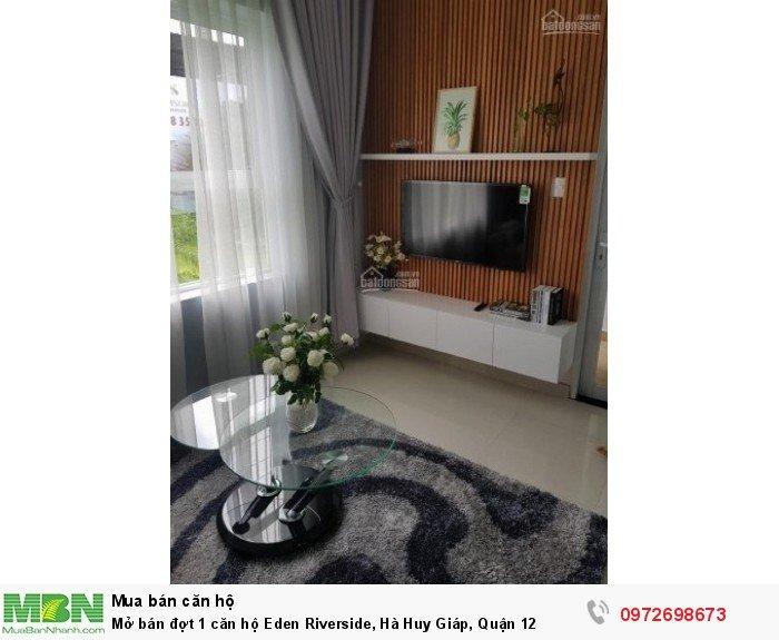 Mở bán đợt 1 căn hộ Eden Riverside, Hà Huy Giáp, Quận 12