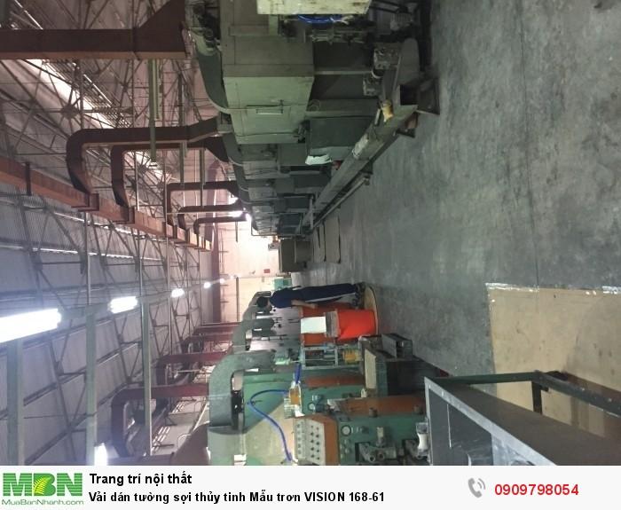 Vải dán tường sợi thủy tinh  Mẫu trơn VISION 168-61