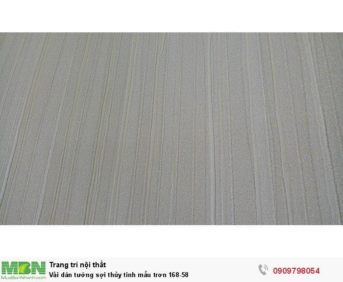 Vải dán tường sợi thủy tinh mẫu trơn 168-58