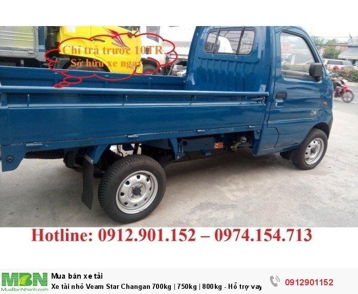 Xe tải nhỏ Veam Star Changan 700kg | 750kg | 800kg - Hỗ trợ vay vốn 90%