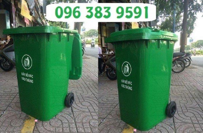 Thùng rác 240l0