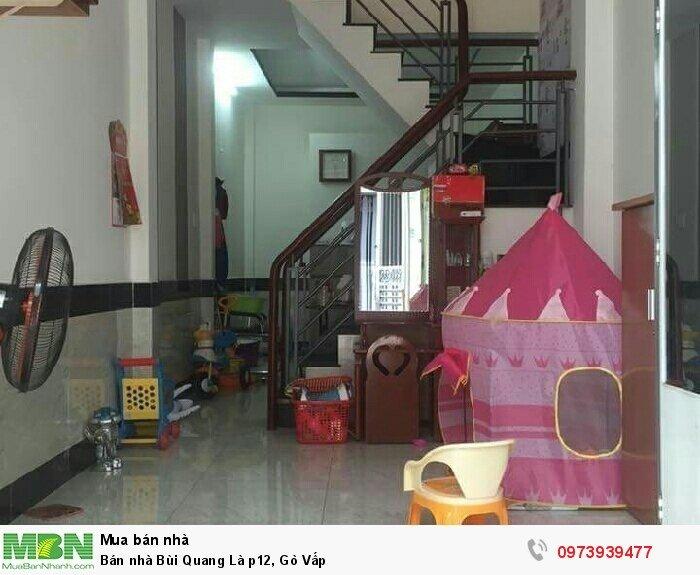 Bán nhà Bùi Quang Là p12, Gò Vấp