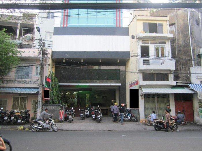 Nhà mặt tiền Lý Chính Thắng, MT 5m, 4T, 124m2, KD 120 triệu/tháng, giá sock