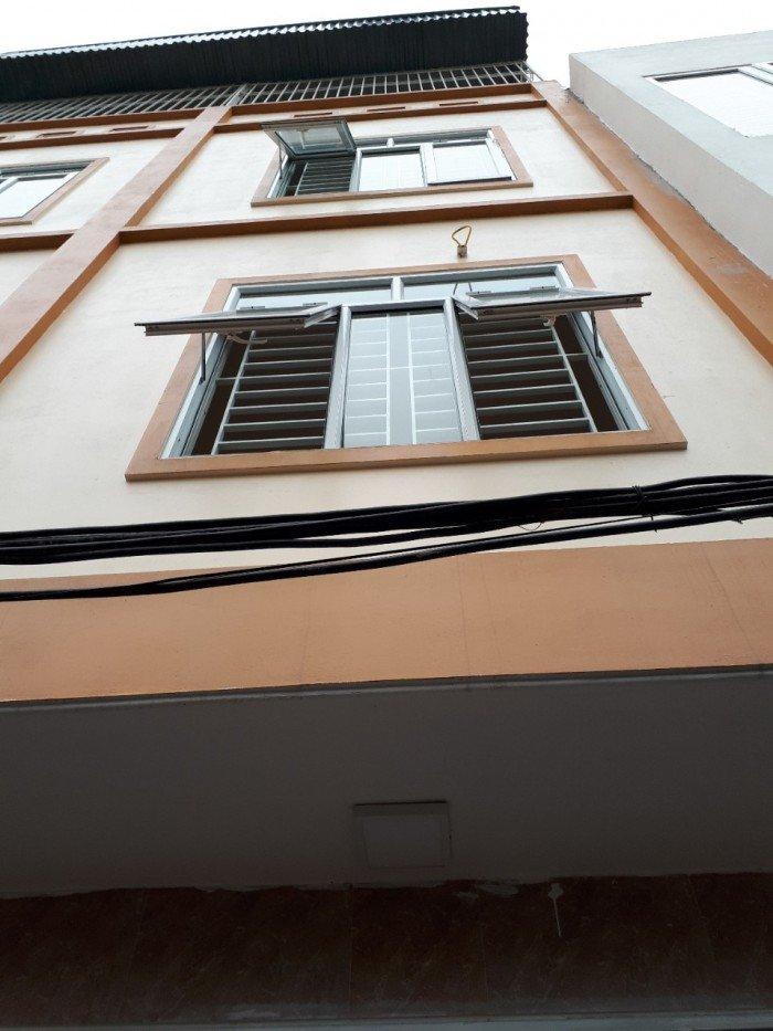 Bán nhà xây mới 100% Hà Trì Hà Đông.(33m*MT 6m*4 Tầng*4PN)