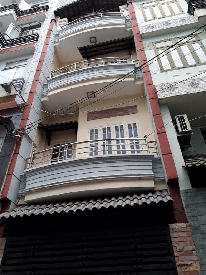 Nhà rẻ đẹp CMT8 P.13 Q.10,(4x10),4 tầng