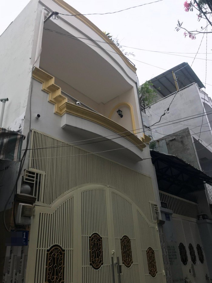 Hẻm 447/22 Tân Sơn, Phường 12 Nhà 1 Lầu DT 4x15m