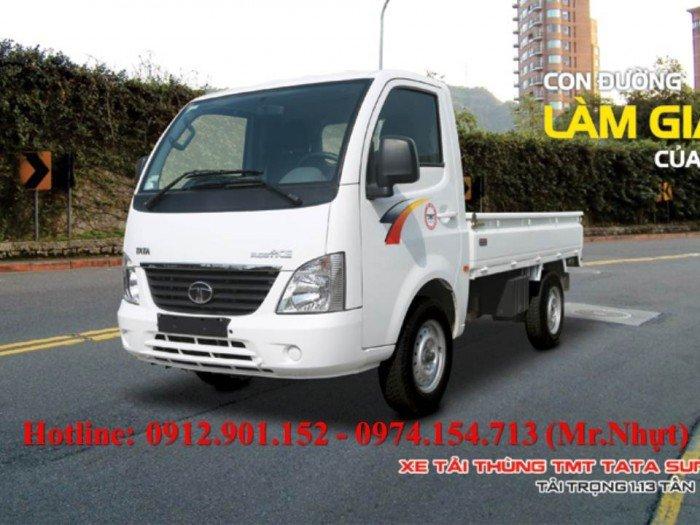 Xe tải TATA 1.2 tấn/ 1 tấn 2 nhập khẩu nguyên chiếc từ Ấn Độ, mới 100%