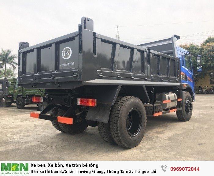 Bán xe tải ben 8,75 tấn Trường Giang, Thùng 15 m3, Trả góp chỉ từ 175 Triệu, Giao xe ngay 2