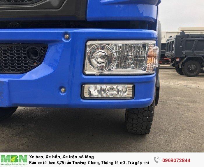 Bán xe tải ben 8,75 tấn Trường Giang, Thùng 15 m3, Trả góp chỉ từ 175 Triệu, Giao xe ngay 6