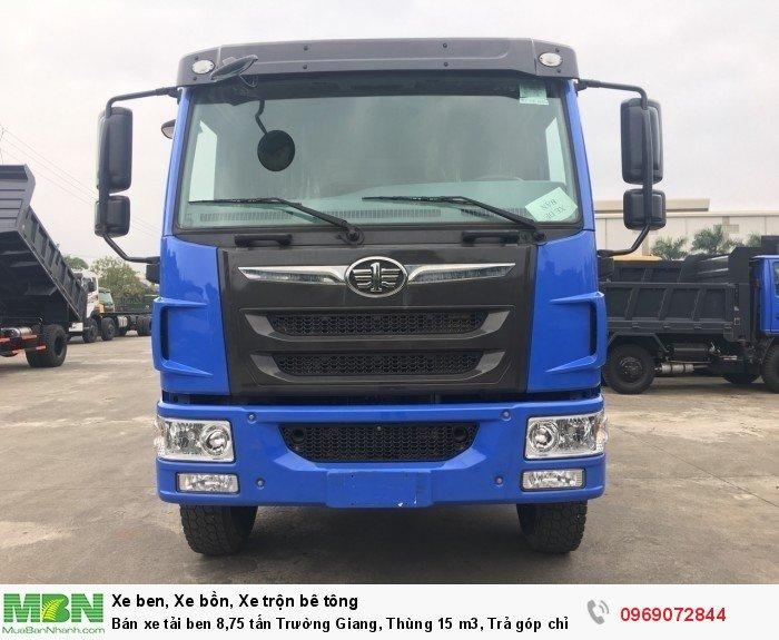 Bán xe tải ben 8,75 tấn Trường Giang, Thùng 15 m3, Trả góp chỉ từ 175 Triệu, Giao xe ngay 5