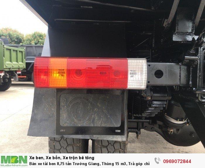 Bán xe tải ben 8,75 tấn Trường Giang, Thùng 15 m3, Trả góp chỉ từ 175 Triệu, Giao xe ngay 8