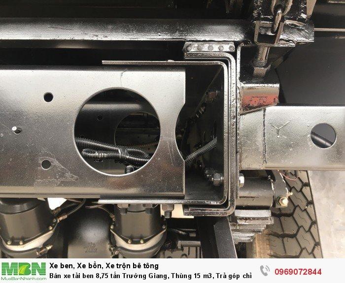 Bán xe tải ben 8,75 tấn Trường Giang, Thùng 15 m3, Trả góp chỉ từ 175 Triệu, Giao xe ngay 12