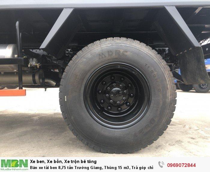 Bán xe tải ben 8,75 tấn Trường Giang, Thùng 15 m3, Trả góp chỉ từ 175 Triệu, Giao xe ngay 13