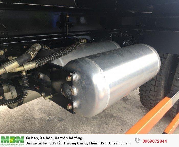 Bán xe tải ben 8,75 tấn Trường Giang, Thùng 15 m3, Trả góp chỉ từ 175 Triệu, Giao xe ngay 14