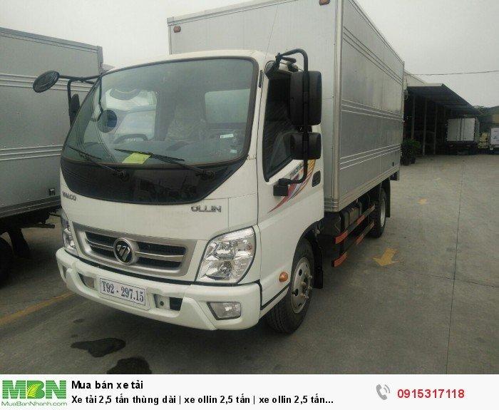 Xe tải 2,5 tấn thùng dài | xe ollin 2,5 tấn | xe ollin 2,5 tấn Hải Phòng 0