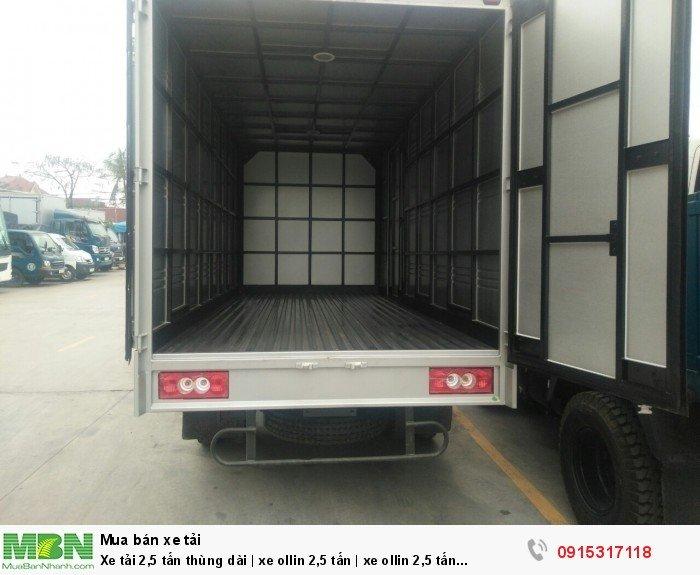 Xe tải 2,5 tấn thùng dài | xe ollin 2,5 tấn | xe ollin 2,5 tấn Hải Phòng 1