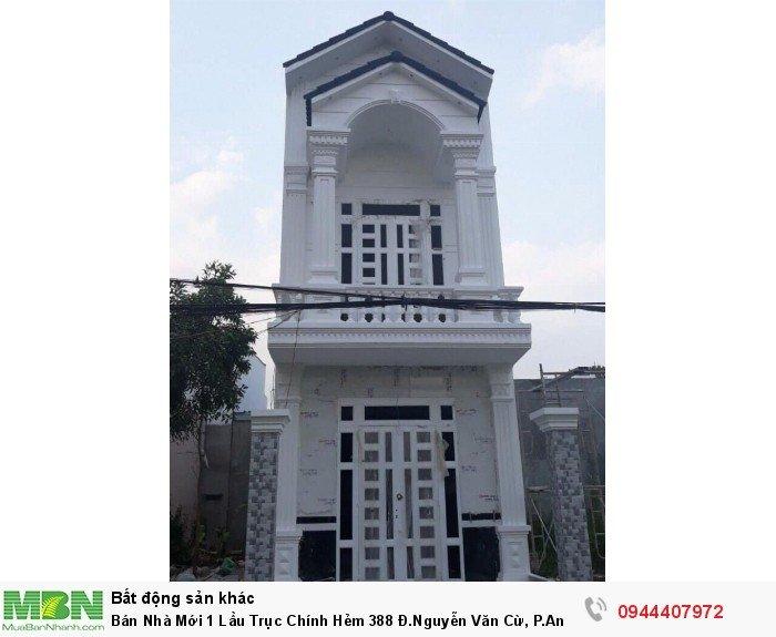 Bán Nhà Mới 1 Lầu Trục Chính Hẻm 388 Đ.Nguyễn Văn Cừ, P.An Khánh, Q.Ninh Kiều 4x17m Thổ Cư