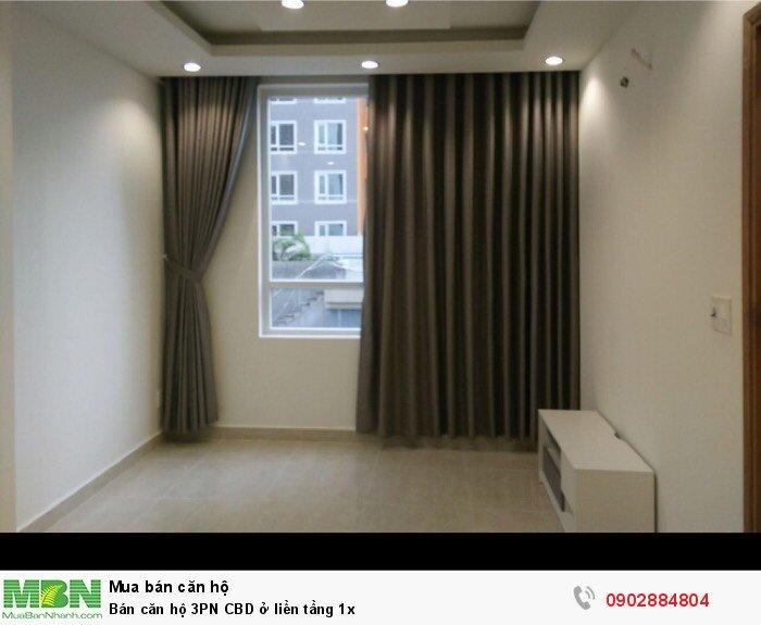 Bán căn hộ 3PN CBD ở liền tầng 1x