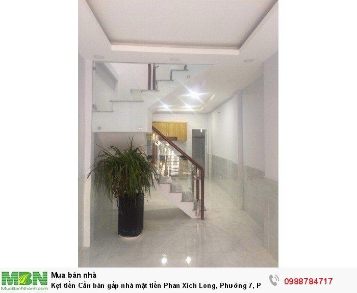 Kẹt tiền Cần bán gấp nhà mặt tiền  Phan Xích Long, Phường 7, Phú Nhuận.
