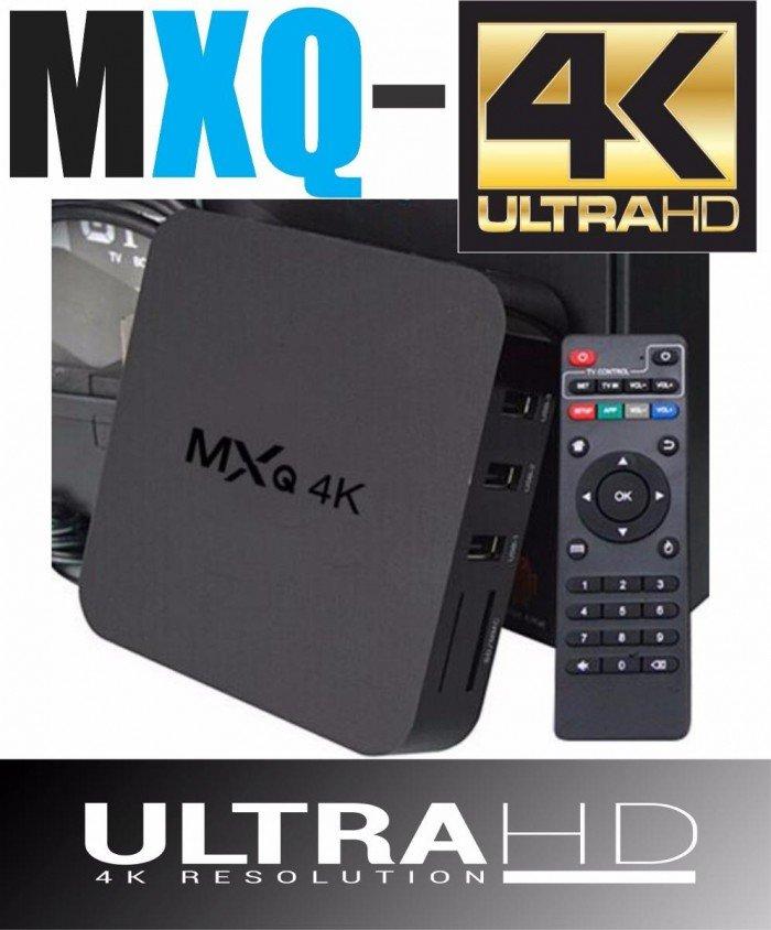 MXQ-4K Android 4.4 TV Box tặng chuột bay 1GB RAM 8GB ROM Quad Core2