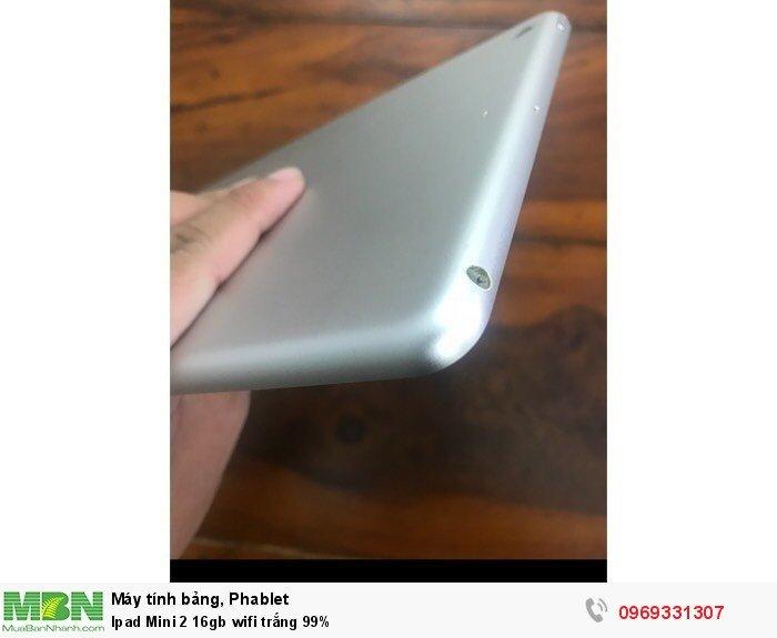 Ipad Mini 2 16gb wifi trắng 99%2