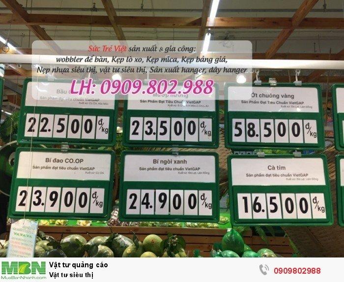 Khung bảng giá số lật quầy rau6