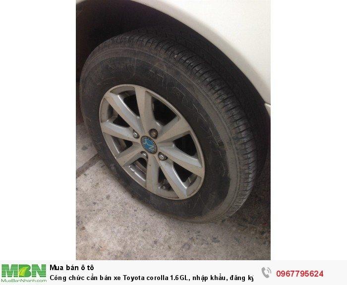 Công chức cần bán xe Toyota corolla 1.6GL, nhập khẩu, đăng ký lần đầu 1998, 3