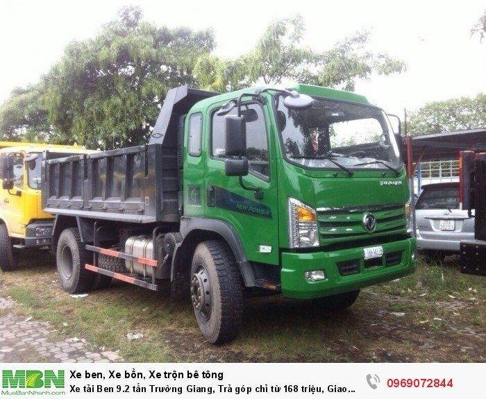 Xe tải Ben 9.2 tấn Trường Giang, Trả góp chỉ từ 168 triệu, Giao xe ngay 0