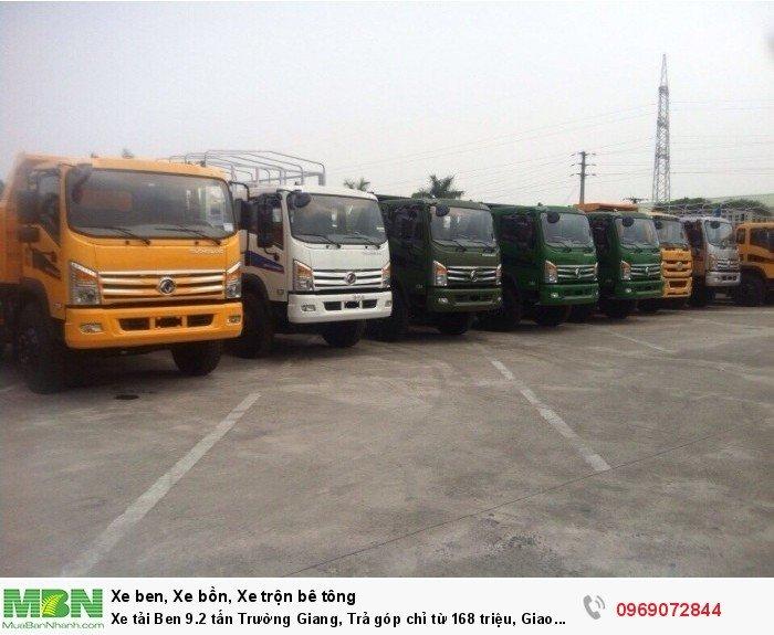 Xe tải Ben 9.2 tấn Trường Giang, Trả góp chỉ từ 168 triệu, Giao xe ngay 2