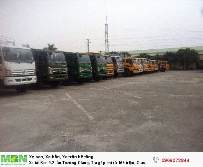 Xe tải Ben 9.2 tấn Trường Giang, Trả góp chỉ từ 168 triệu, Giao xe ngay 3