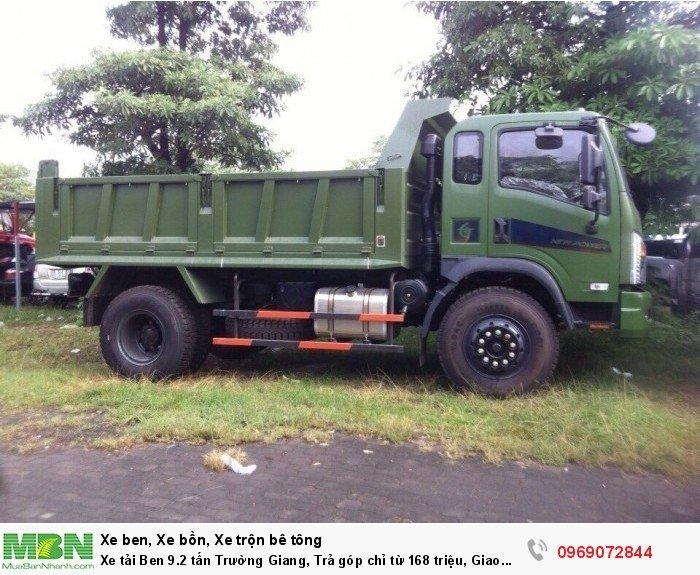Xe tải Ben 9.2 tấn Trường Giang, Trả góp chỉ từ 168 triệu, Giao xe ngay 4