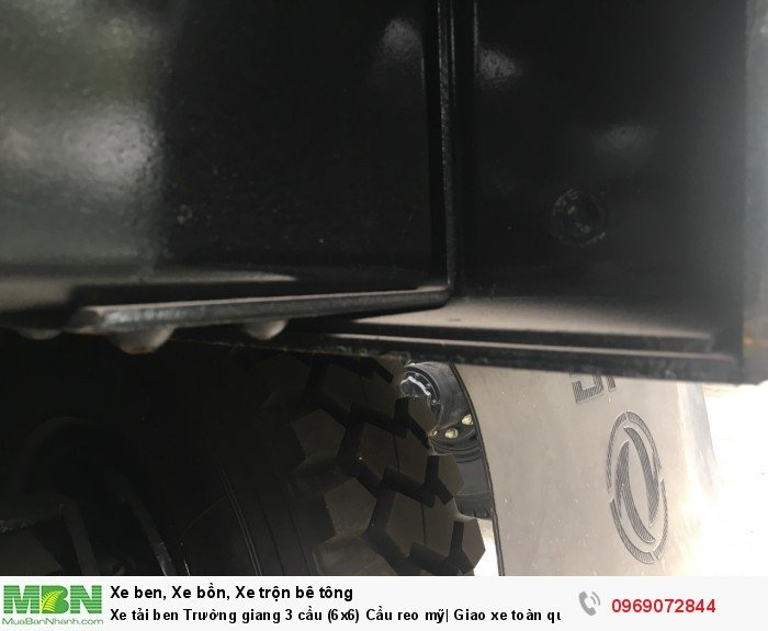 Xe tải ben Trường giang 3 cầu (6x6) Cầu reo mỹ| Giao xe toàn quốc 9