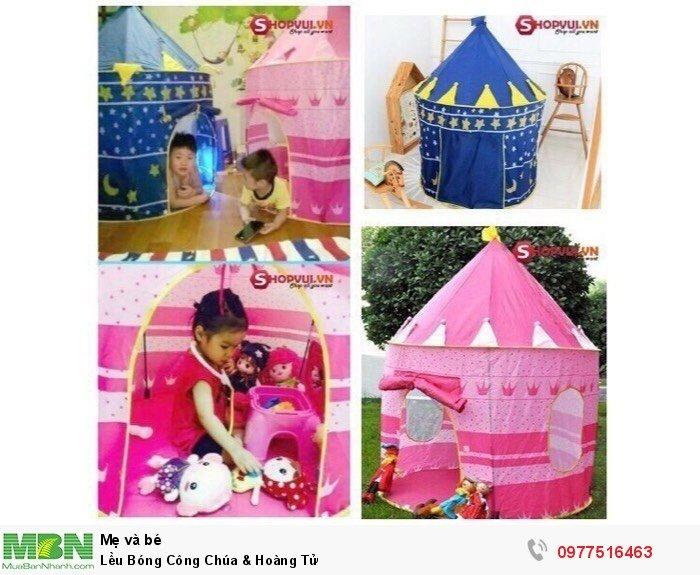 Lều Bóng Công Chúa & Hoàng Tử0