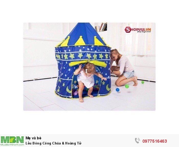 Lều Bóng Công Chúa & Hoàng Tử1