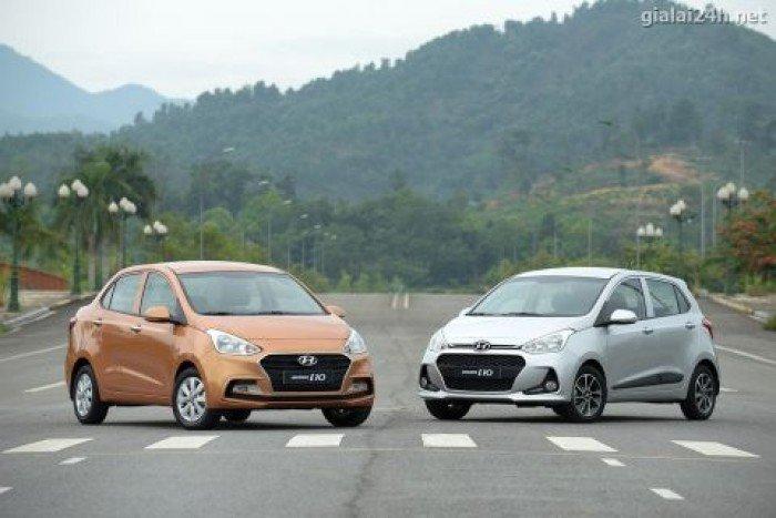 Hyundai i10 sản xuất năm 2018 Động cơ Xăng